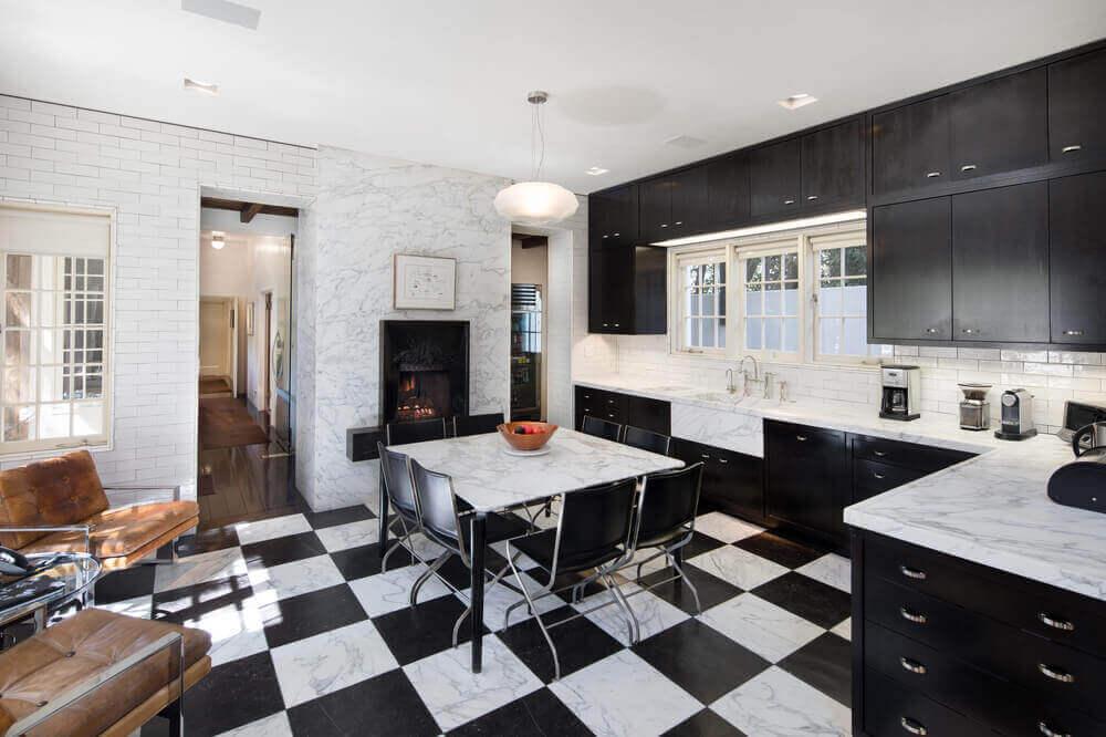 60 Black And White Dining Room Decor Ideas Photos