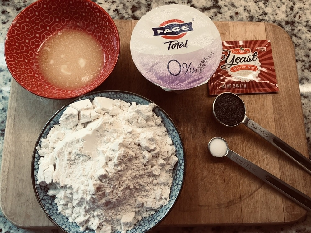The complete ingredients of the recipe.