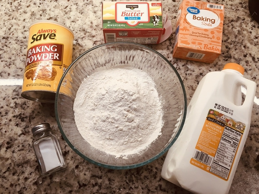 The set of ingredients to be used for the recipe.