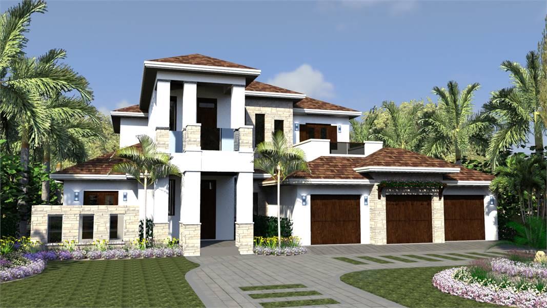 Modern style Florida house