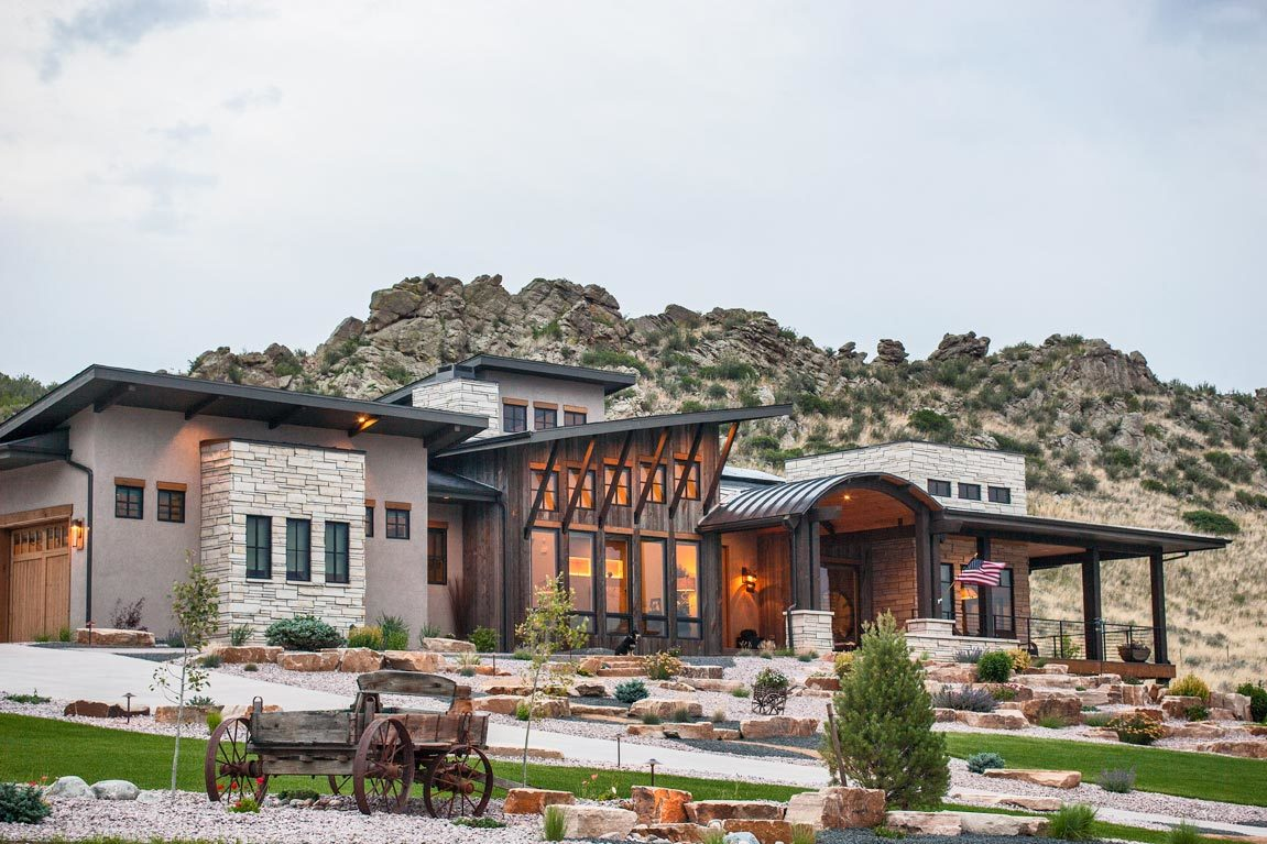 Single-Story 4-Bedroom Modern Mountain Home with Optional Lower Level