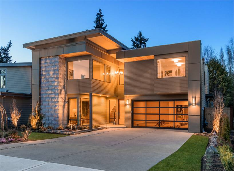 Two-Story 4-Bedroom Sunoria Contemporary-Style Home
