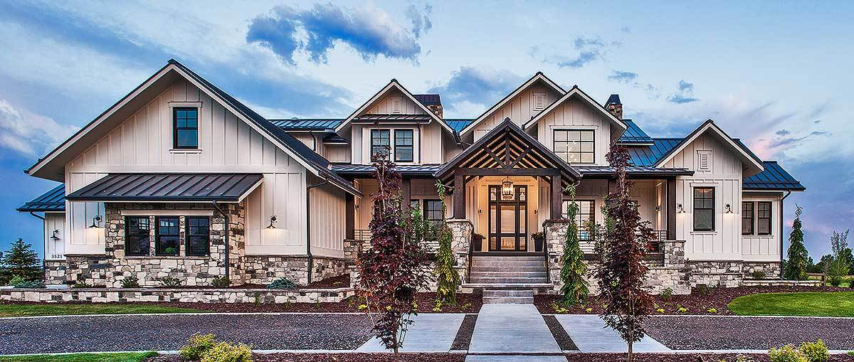 Two-Story 6-Bedroom Mountain Home with Climbing and Exercise Rooms