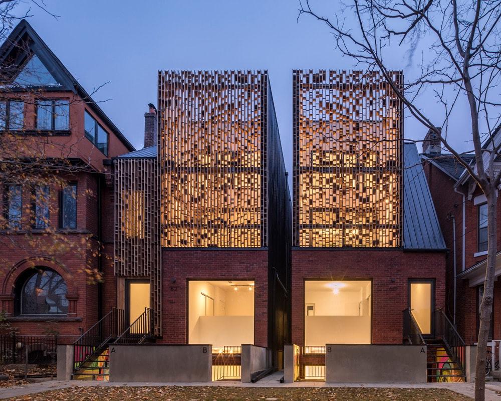 Double Duplex by Batay-Csorba Architects