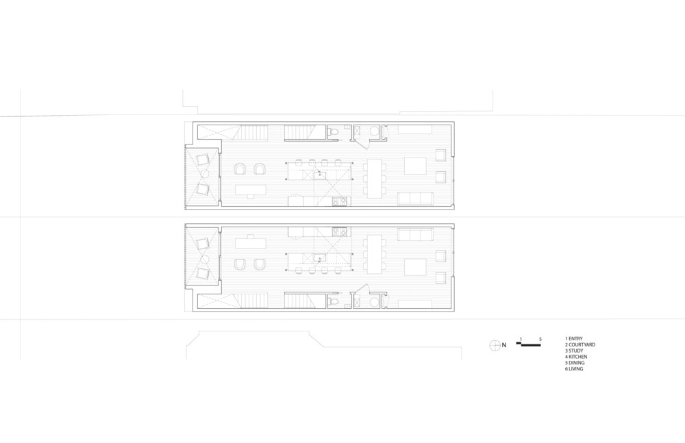 This is the Floor Plan for the second level of the house.