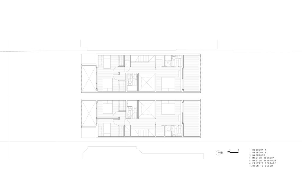 This is the Floor Plan for the third level of the house.