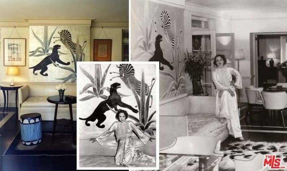 A photo of Dorothy Taylor in the mansion. Image courtesy of Toptenrealestatedeals.com.