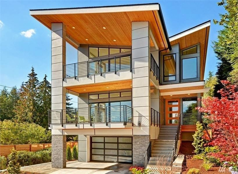 4-Bedroom Three-Story Altair Contemporary Style Home
