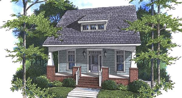 Front rendering of the 4-bedroom two-story Kensington II - A home.