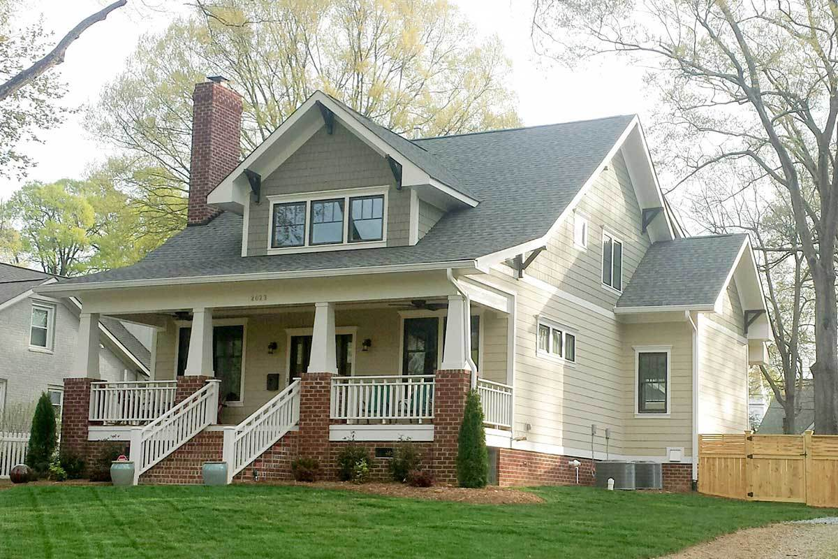 4-Bedroom Two-Story Storybook Bungalow Home