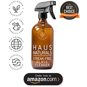 HAUS Naturals glass cleaner
