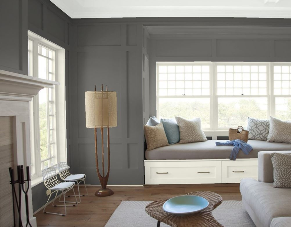Kendall Charcoal by Benjamin Moore