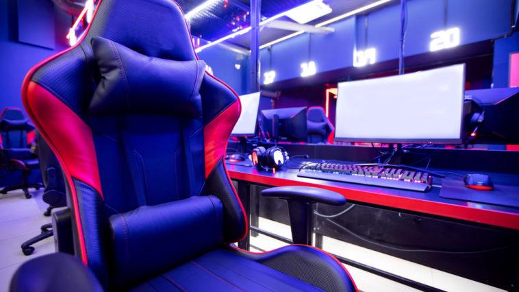 High tech gaming chair