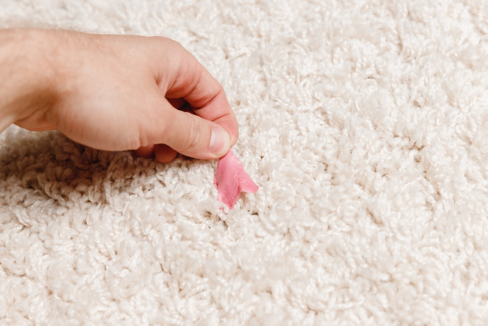 Carpet Cleaning Gum Removal