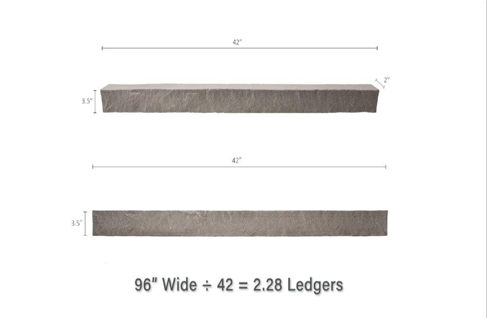 Ledgers dimensions