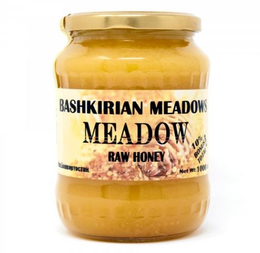 Bashkirian Meadows Meadow Raw Honey