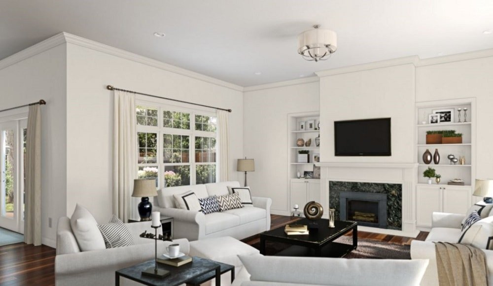 Aesthetic White by Sherwin-Williams