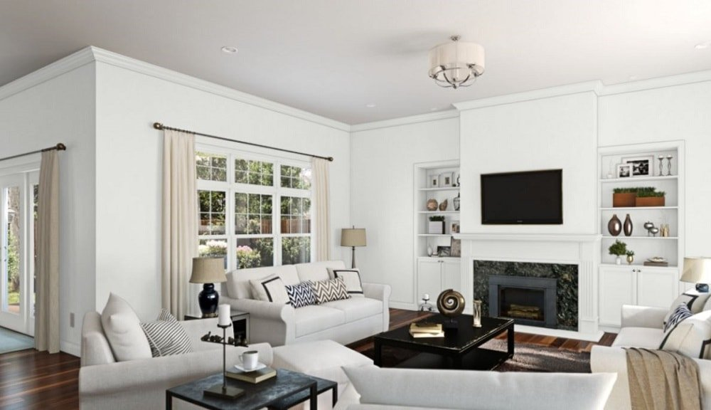 Extra White by Sherwin-Williams