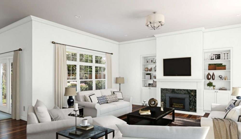 High Reflective White by Sherwin-Williams