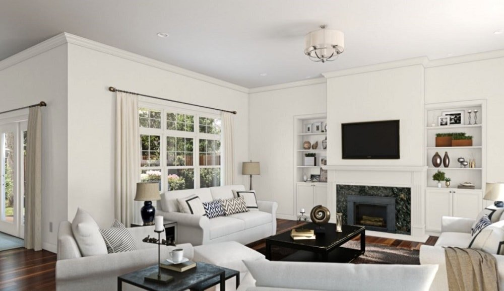 Pearly White by Sherwin-Williams