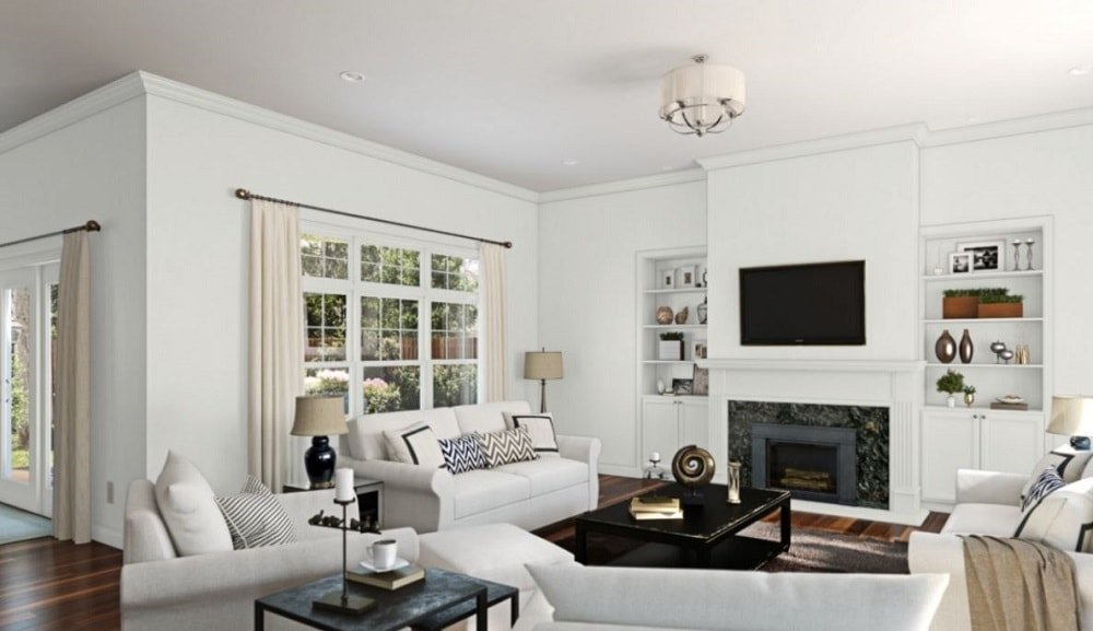 Spare White by Sherwin-Williams