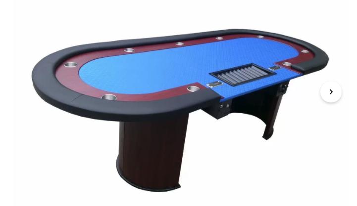 Texas Hold'em poker table