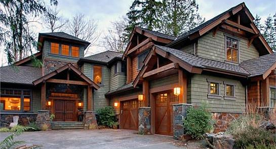 Two-Story 4-Bedroom Highlands Craftsman Style Home