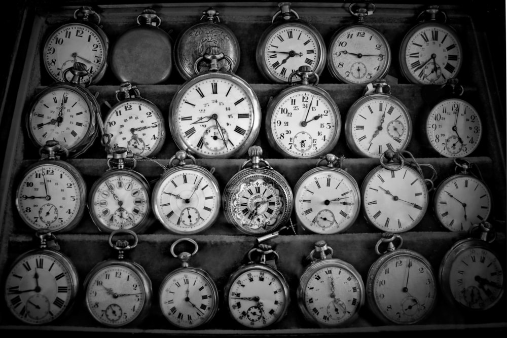 Vintage pocket watches.