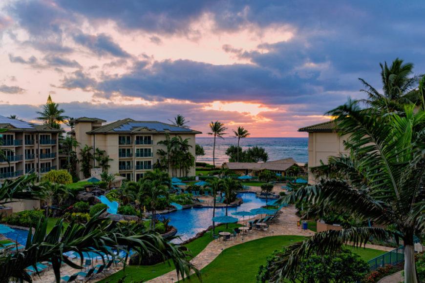 Waipouli Resort in Kauai, Hawaii