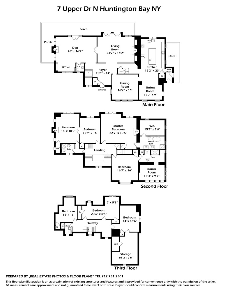 Here's the complete floor plan of the house. Image courtesy of Toptenrealestatedeals.com.