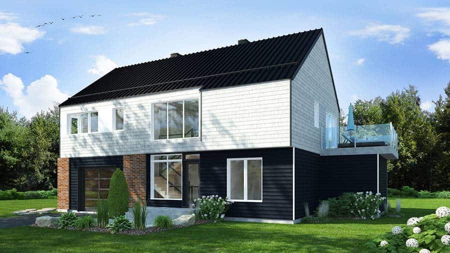 3-Bedroom Two-Story Scandinavian Oslo Home
