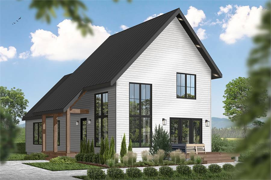 3-Bedroom Two-Story Scandinavian Style Willowgate Home