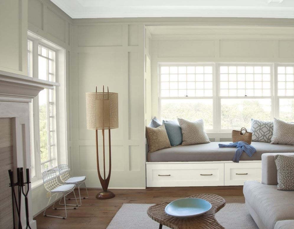 Spanish Olive by Benjamin Moore