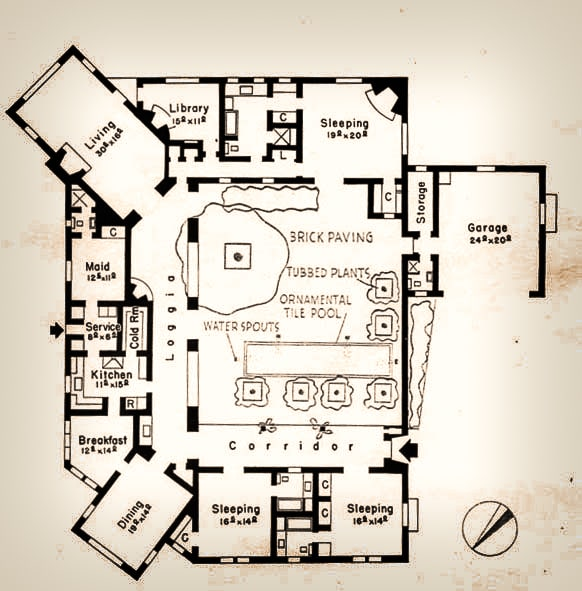 This is the floor plan of the house depicting the various sections of the house. Image courtesy of Toptenrealestatedeals.com.