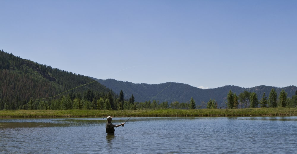 This is a look at the vast pond that is stocked with fishing game. Image courtesy of Toptenrealestatedeals.com.