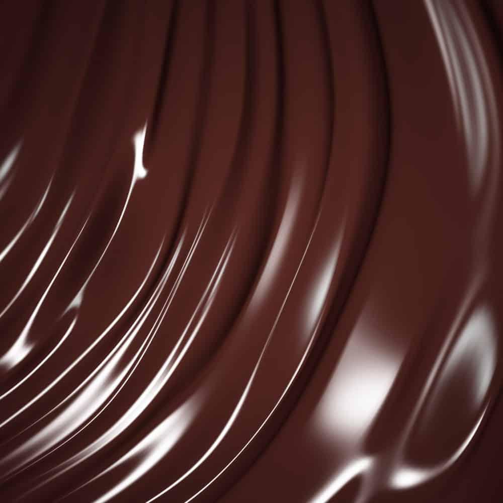 Couverture chocolate swirls