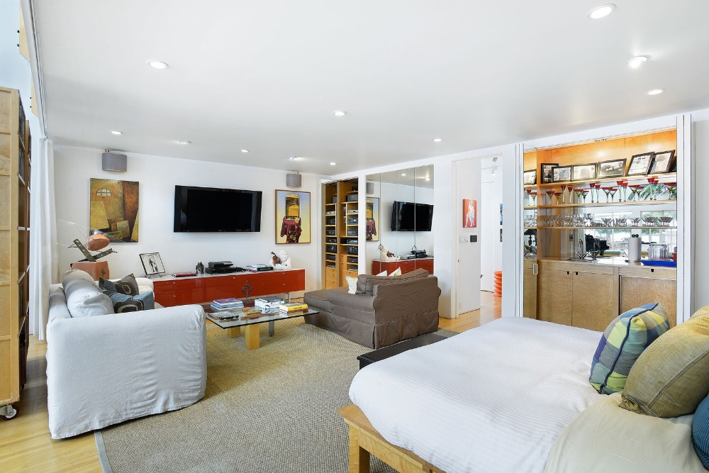 Another look at the bedroom from the bed set facing the personal living set. Image courtesy of Toptenrealestatedeals.com.