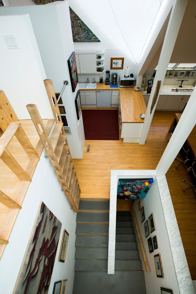 Here's the view of the area taken from the loft on top. Image courtesy of Toptenrealestatedeals.com.