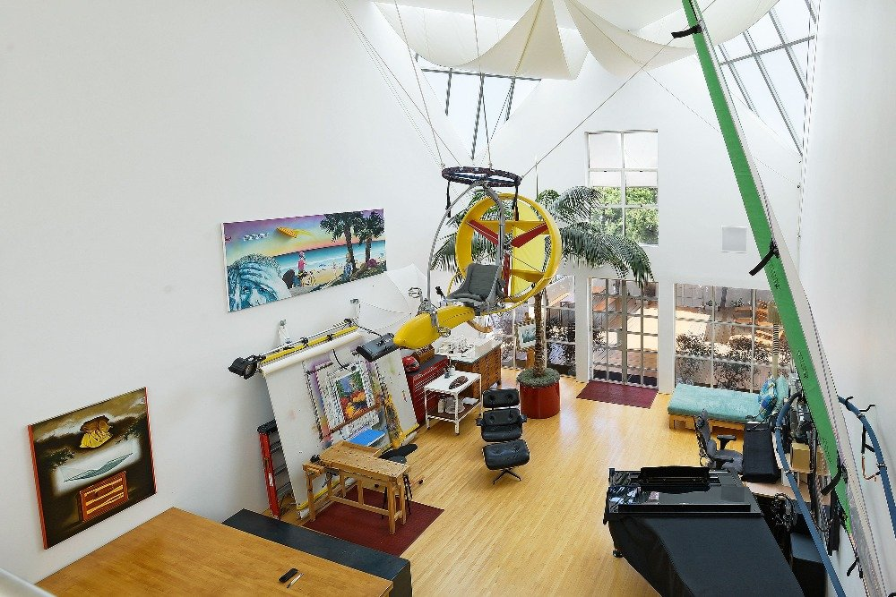 Another view of the room from high up, showcasing the size of this room. Image courtesy of Toptenrealestatedeals.com.