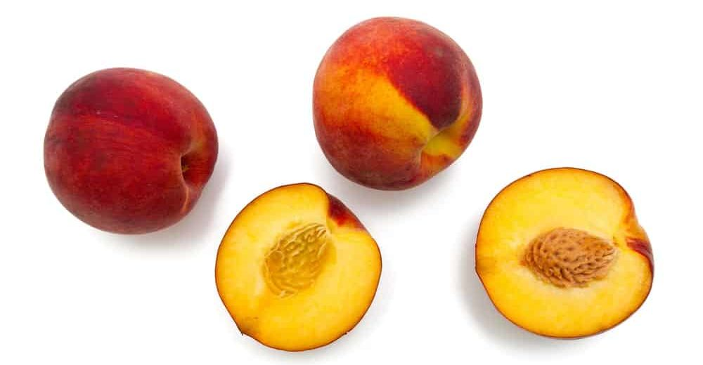 Freestone varietal peaches