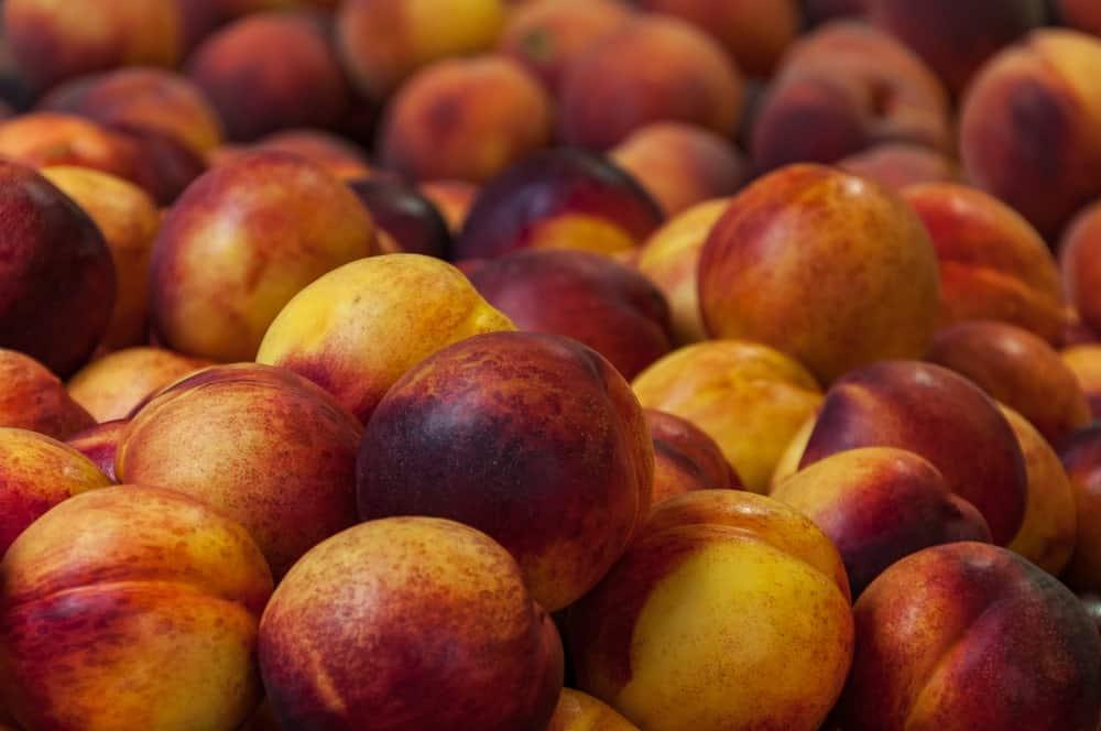 Halloween peaches
