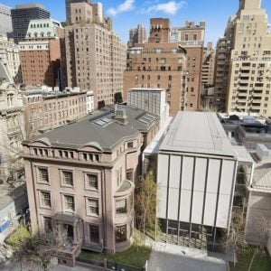 This is an aerial view of the pre-war building where the apartment belongs to. You can see here that it only has a few floors and has amazing architecture. Image courtesy of Toptenrealestatedeals.com.