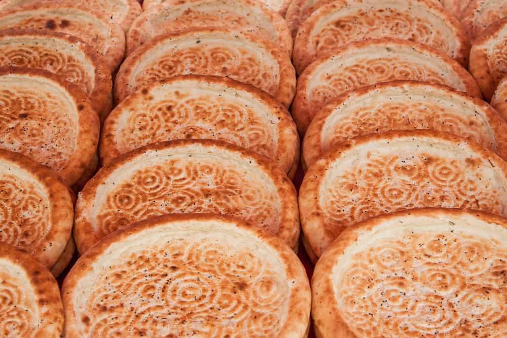 Loaves of Obi Non bread.