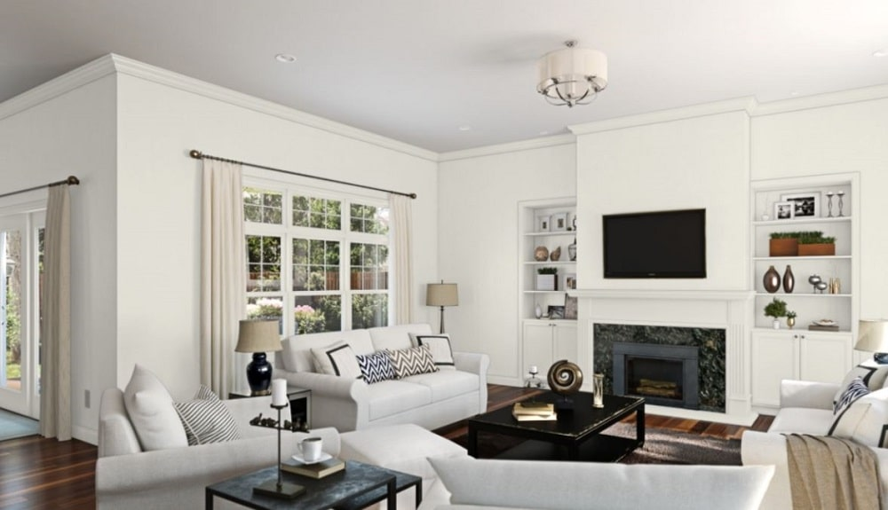 Alabaster by Sherwin-Williams