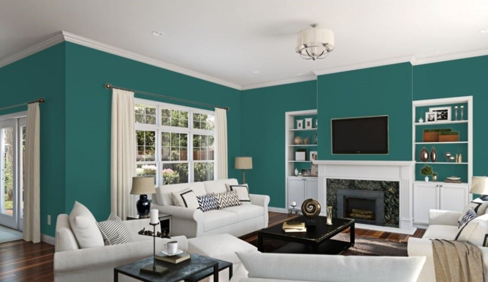 Green Bay by Sherwin-Williams