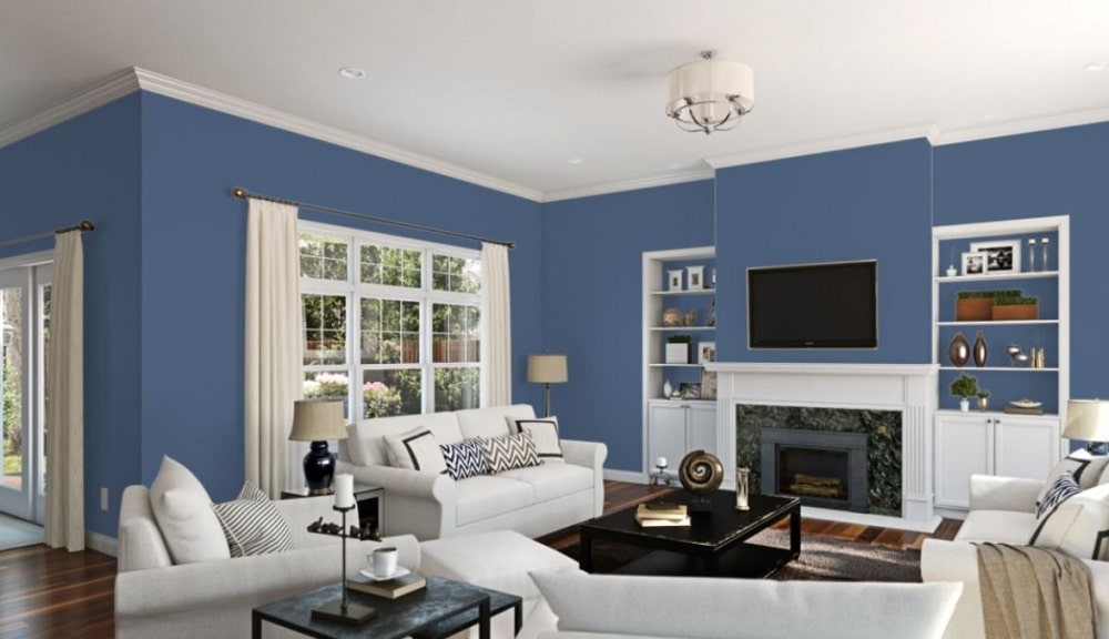Luxe Blue by Sherwin-Williams