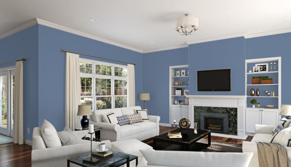 Searching Blue by Sherwin-Williams