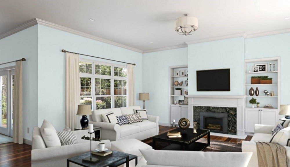 Sky High by Sherwin-Williams