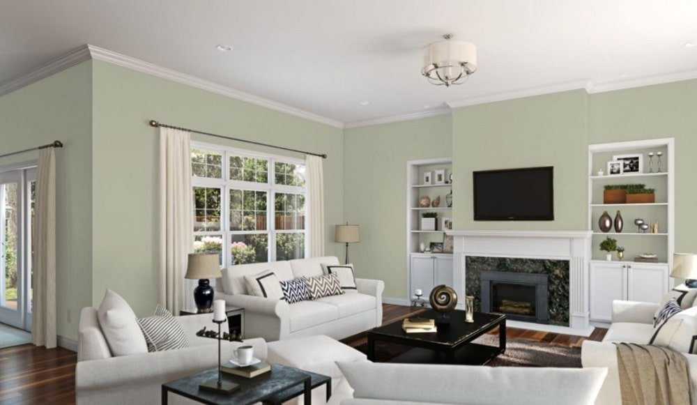 Softened Green by Sherwin-Williams