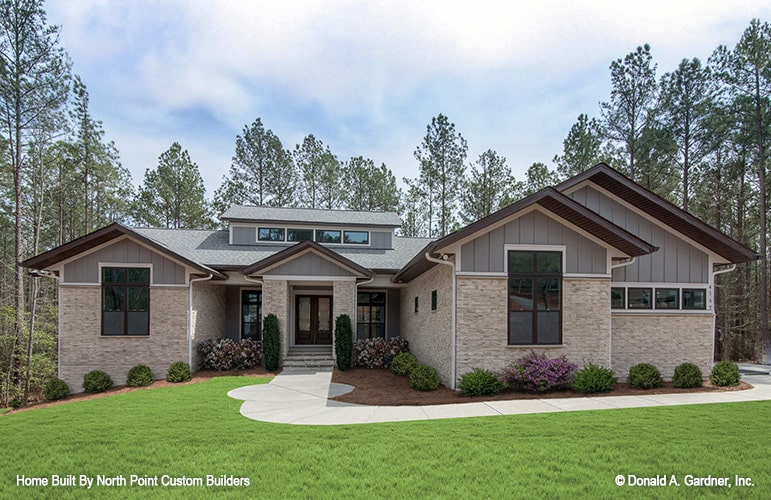 Single-Story 3-Bedroom The Clearlake Modern Home